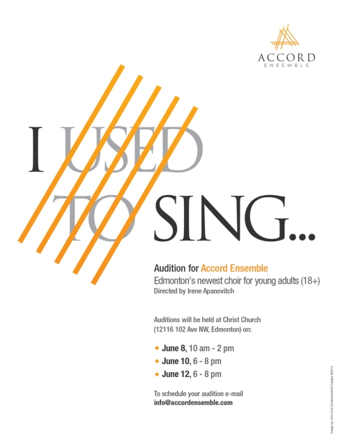 Auditions now open!